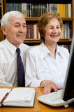 Elderly couple Stock Photo