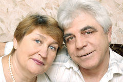 Elderly couple Stock Image