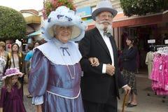 Elderly couple. Royalty Free Stock Image