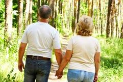 Elderly couple Royalty Free Stock Images