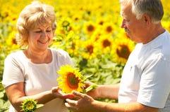 Free Elderly Couple Royalty Free Stock Images - 5962519
