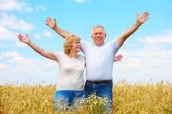 Elderly couple Stock Photo