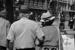 ELDERLY COUPLE Stock Photography