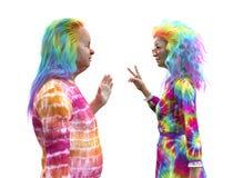 Psychedelic Seniors Stock Photos