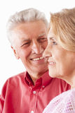 Elderly couple portrait Royalty Free Stock Image