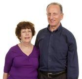 Elderly couple together Royalty Free Stock Photo