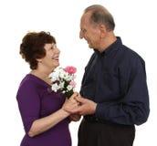 Elderly couple together Stock Photos