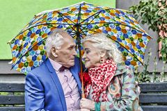 concept love, Elderly couple, Hipsters. family, happy, together, stock photo