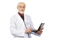 Elderly doctor Royalty Free Stock Photo
