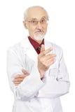 Elderly doctor Stock Photos