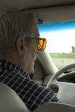 Elderly driver Stock Photos