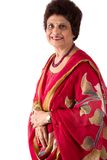 Elderly East Indian Lady Royalty Free Stock Photo