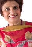 Elderly East Indian Lady stock image
