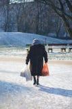 elderly eyes focus woman Στοκ φωτογραφία με δικαίωμα ελεύθερης χρήσης