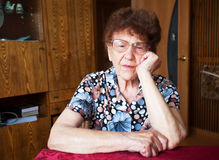 Elderly female Royalty Free Stock Photos