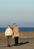 Elderly Females Royalty Free Stock Photography
