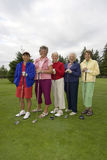 Elderly Golfers Stock Image