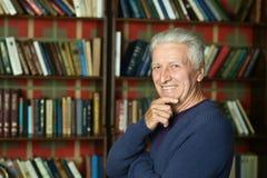 Elderly happy man Stock Photo