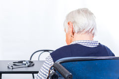 Elderly health care Stock Photos