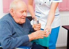 Elderly Health Issues Royalty Free Stock Photos