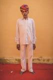 Elderly Indian man Stock Photo