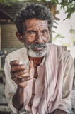 Elderly Indian man Stock Photography