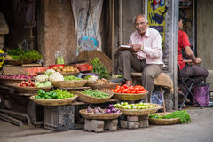 Elderly Indian man Stock Images