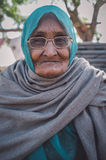 Elderly Indian woman Royalty Free Stock Photo