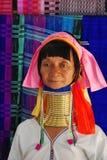Elderly Karen Tribeswoman Stock Photo