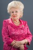 The elderly lady. Stock Image