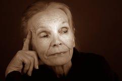 Elderly Lady Royalty Free Stock Photos