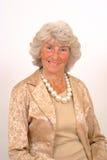 elderly lady smiling Στοκ Εικόνα