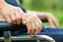 Elderly life Stock Photo