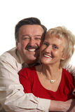 Elderly love Stock Image