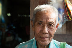 Elderly Mae Sot man Stock Images