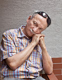 Elderly man Royalty Free Stock Photo