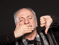 Elderly man Stock Image