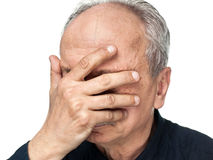 Elderly man Stock Photo