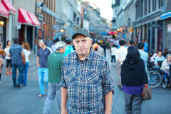 The elderly man Royalty Free Stock Photography
