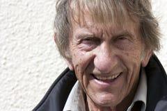 Elderly man in 80's Stock Photos
