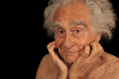 Elderly man Royalty Free Stock Photography