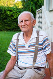 Elderly man Stock Photography