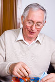 Elderly man Stock Image