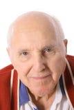 Elderly man headshot Royalty Free Stock Images