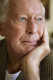Elderly Man Looking Away Stock Photography