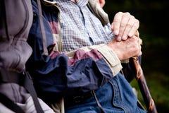 Elderly Man Outdoor Stock Images