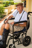 Elderly man Stock Images