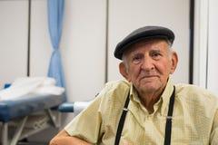 Elderly man stock photography