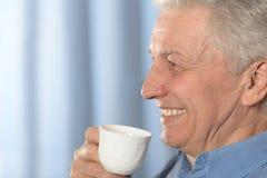 Elderly man portrait Royalty Free Stock Images