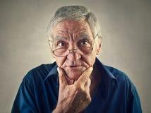 Elderly man royalty free stock image